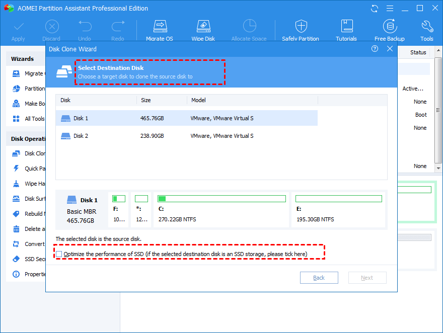 Optimize the performance of SSD