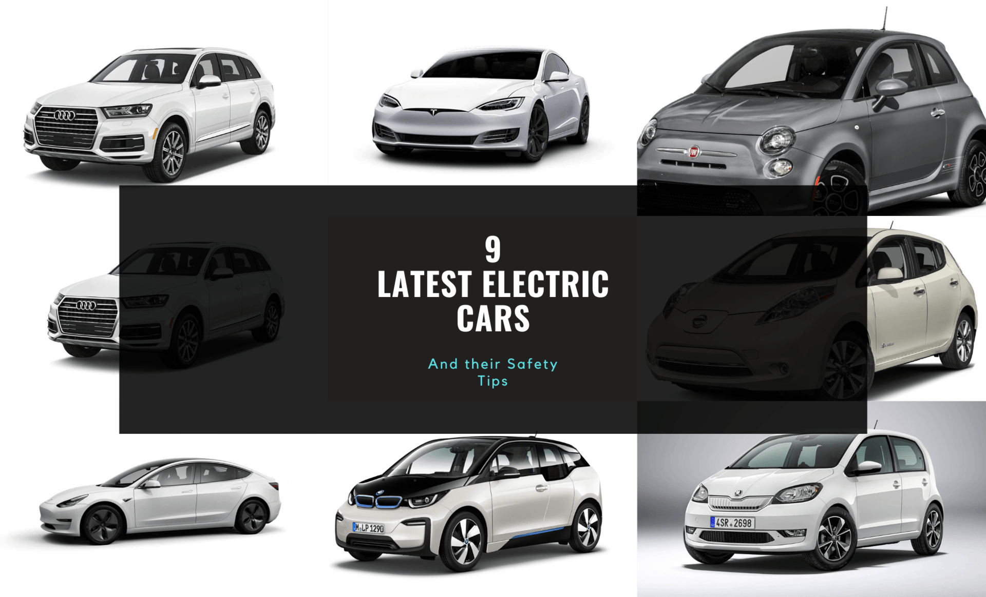 9 Latest Electric Cars with their Features and Safety Tips