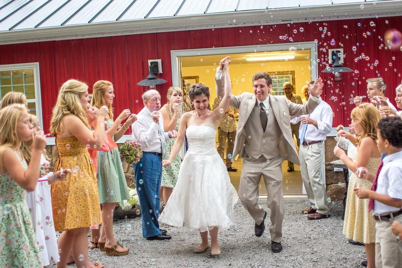 7 ways to celebrate your reception party