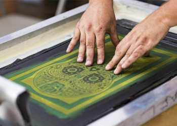 types of screen printing